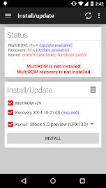 MultiROM Manager Screenshot 1