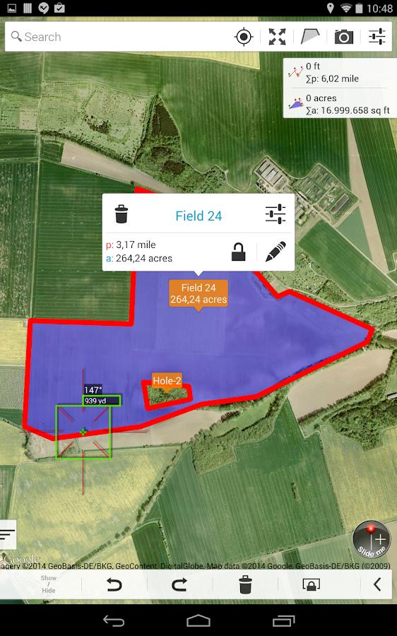 Acre Measure Map