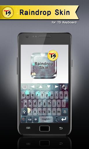 Raindrop Skin for TS Keyboard