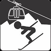 Virtual Ski Map Sella Ronda