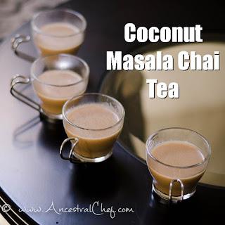 Coconut Masala Chai Tea (Paleo, Dairy-Free) Recipe