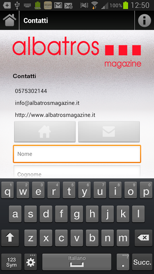 Albatros Magazine- screenshot