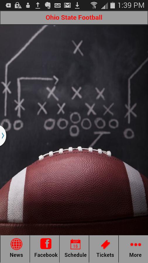 Ohio State Football- screenshot