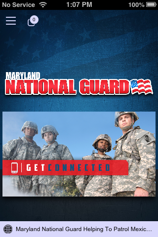 Maryland National Guard- screenshot