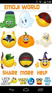 Emoji World ™ Halloween- screenshot thumbnail