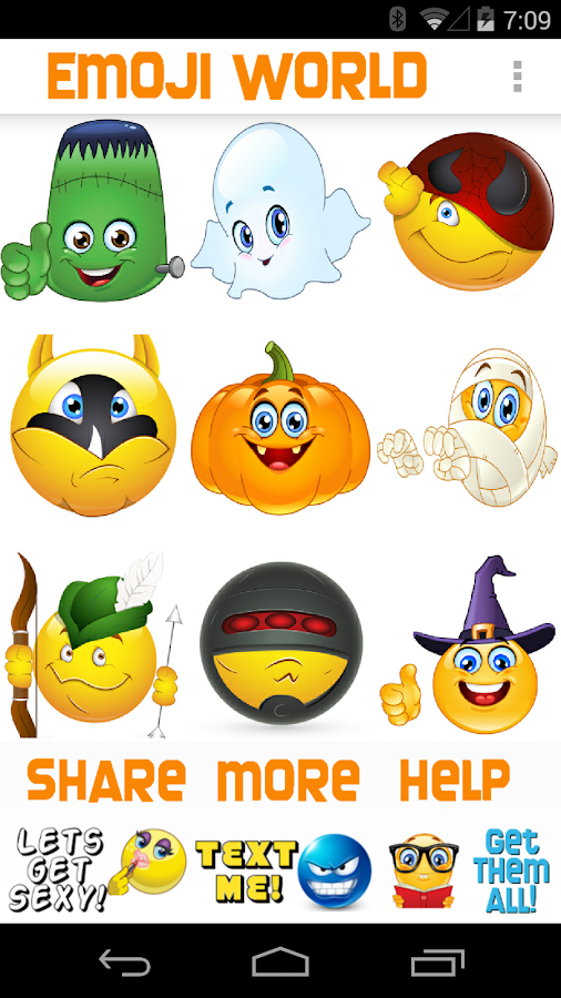 Emoji World ™ Halloween- screenshot