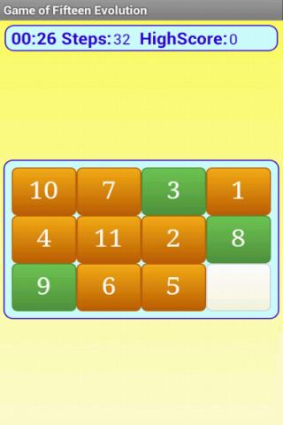 15 puzzle evolution FREE - screenshot