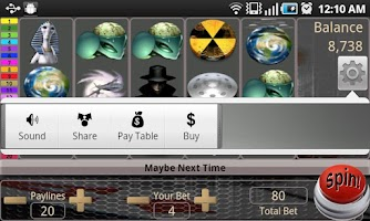 Screenshot of Alien MafiaSpin Slot