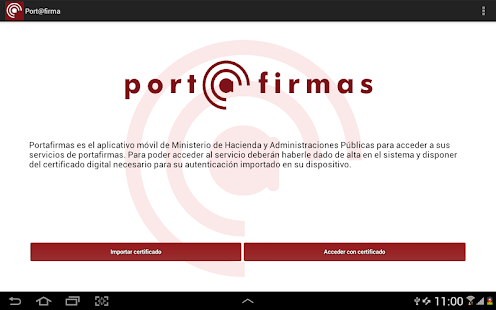 Port@firmas movil- screenshot thumbnail