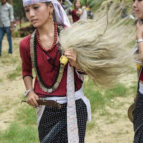 Culture  by Naveen Rai - People Street & Candids ( woman, sakela, dance, chandi, Model, Portrait, Untouched, Unedited, Non-photoshop )
