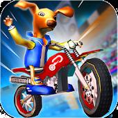 MotoCross Cartoon Stunt Rally