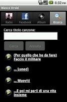 Screenshot of Blasco Droid