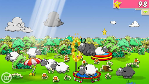 Clouds Sheep