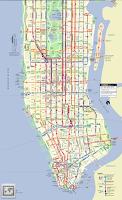 Screenshot of New York Subway & Bus maps
