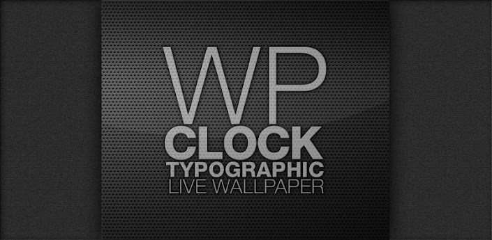 wp clock design live wallpaper