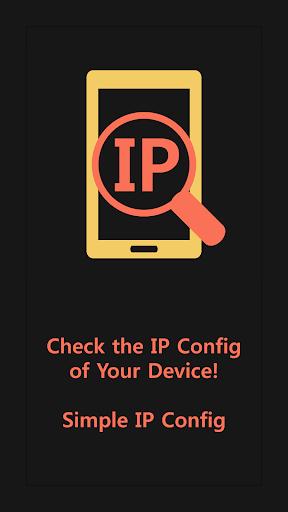 簡單的IP配置顯示