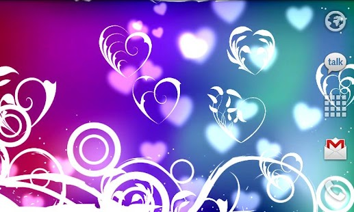 KF Hearts Live Wallpaper - screenshot thumbnail