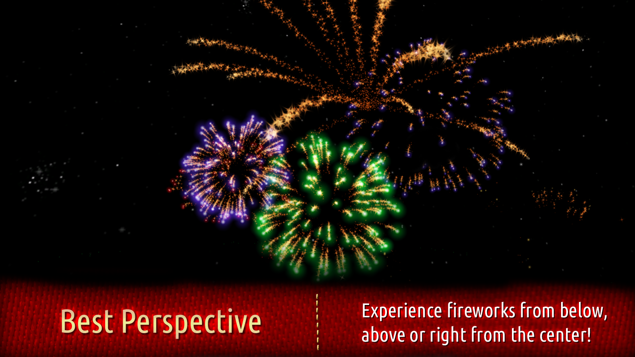 Fireworks 4D with Countdown- screenshot