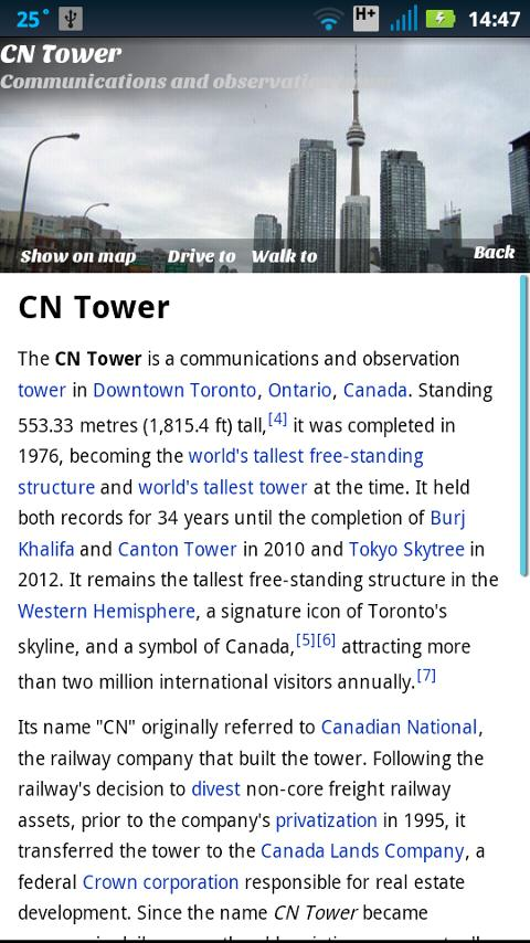 Toronto Top 30 Sights - screenshot