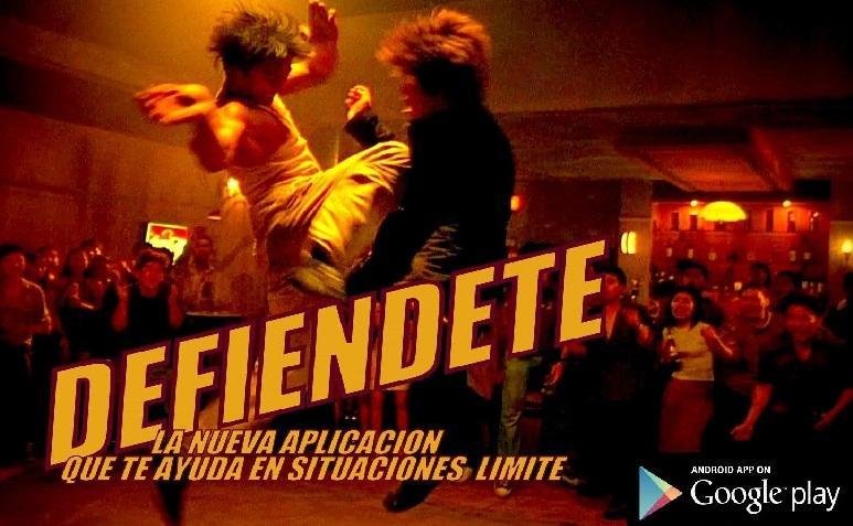 DEFIENDETE - screenshot