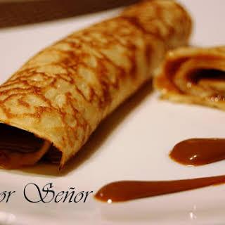 Argentinian Dulce de Leche Pancakes.