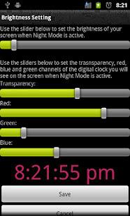 App Night Mode Trial (Night Clock) APK for Windows Phone