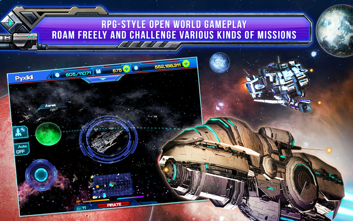 Galactic Phantasy Prelude- screenshot