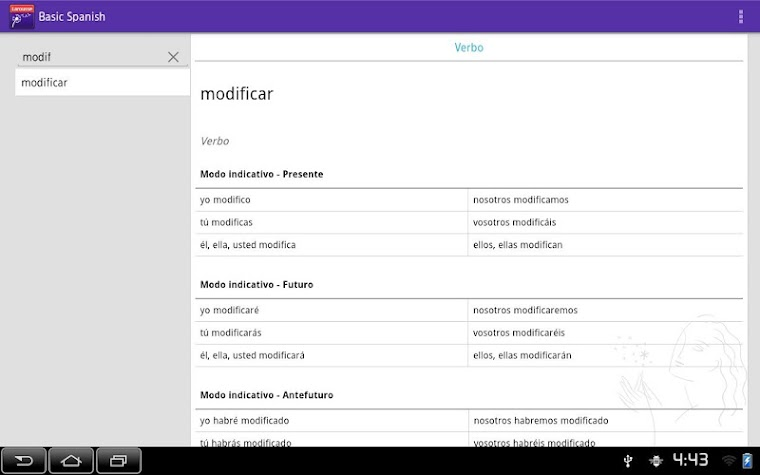Larousse Basic Spanish Screenshot