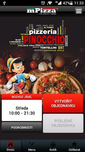 Pinocchio Pizzeria Náchod