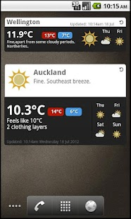 MetService - screenshot thumbnail