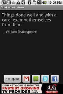 Shakespeareisms - screenshot thumbnail