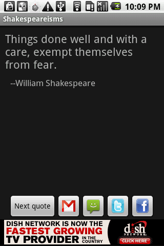 Shakespeareisms - screenshot