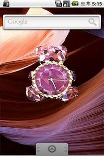 Crystal Bear LiveWall& Clock - screenshot thumbnail