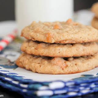 Oatmeal Butterscotch Caramel Cookies.