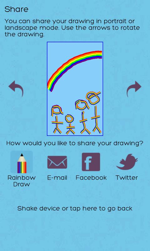 Rainbow Draw Free - screenshot