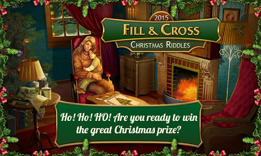 Fill and Cross. Christmas Free