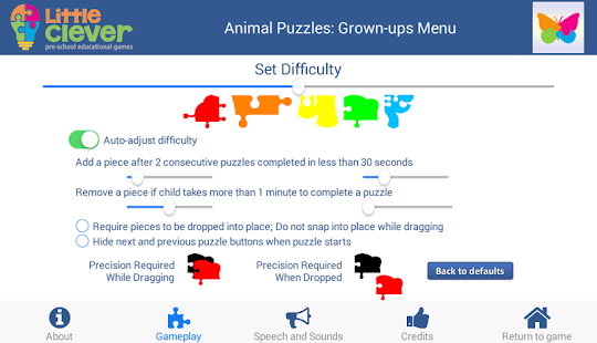 101 Animal Puzzles for Kids- screenshot thumbnail