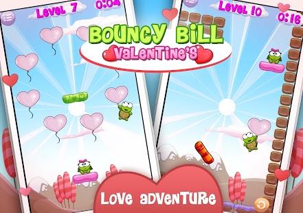 Bouncy Bill Valentine's Day - screenshot thumbnail