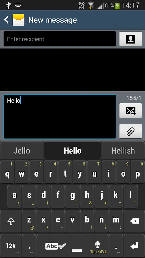 Black Keyboard Theme - Android Apps on Google Play