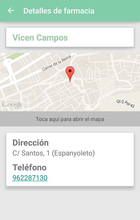 Farmacias Xàtiva- screenshot