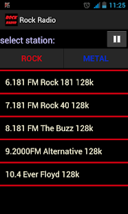 Rock 的電台 Metal 的電台
