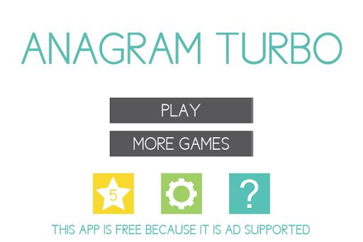 Anagram Turbo - Twist Text