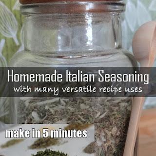 Homemade Italian Seasoning with Many Versatile Uses.