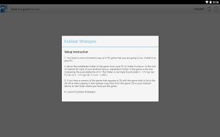 Screenshot of ExaGear Strategies