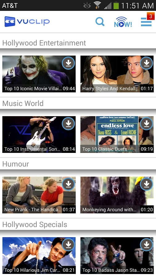 Vuclip - Best Video App - screenshot