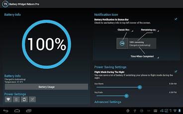 Battery Widget Reborn Pro ui