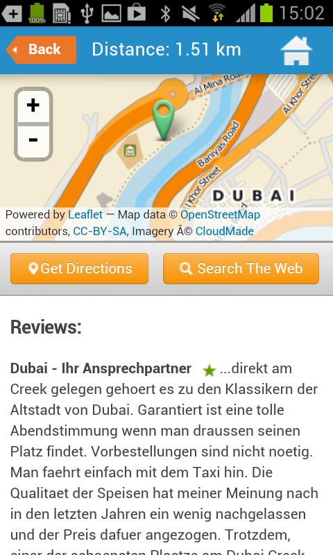 Dubai Guide, Hotels & Weather - screenshot