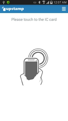 upstamp NFC stamp card
