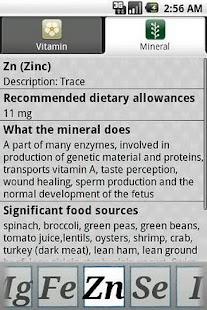 玩免費健康APP|下載Vitamins Minerals app不用錢|硬是要APP