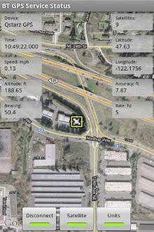 GPS Bluetooth Servicio Gratis